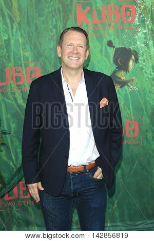 LOS ANGELES - AUG 14: Bradley Wald at the premiere of Focus Features' 'Kubo and the Two Strings' at AMC Universal City Walk on August 14, 2016 in Los Angeles, California
