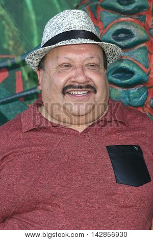 LOS ANGELES - AUG 14: Chuy Bravo at the premiere of Focus Features' 'Kubo and the Two Strings' at AMC Universal City Walk on August 14, 2016 in Los Angeles, California