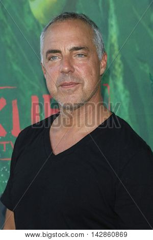LOS ANGELES - AUG 14: Titus Welliver at the premiere of Focus Features' 'Kubo and the Two Strings' at AMC Universal City Walk on August 14, 2016 in Los Angeles, California