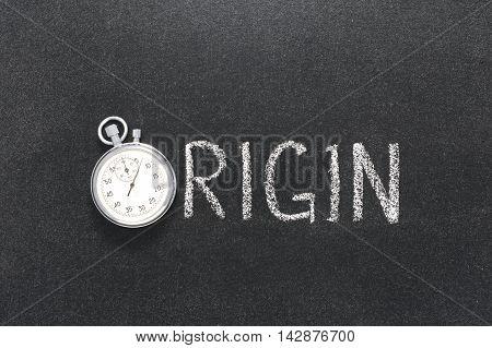 Origin Word Watch