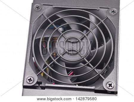 the big new Computer power supply fan