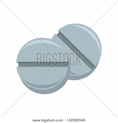pill drug medicine prescription capsule medical vitamin vector  isolated illustration