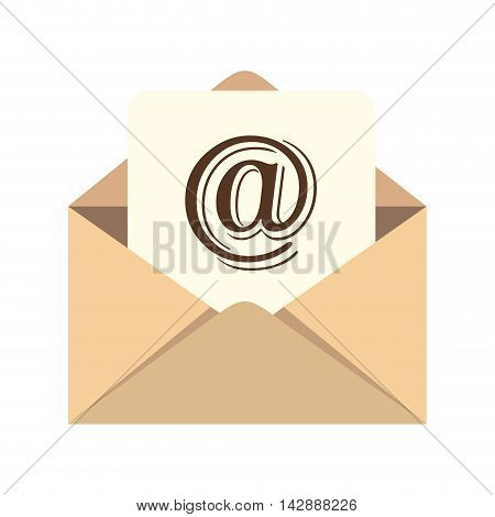 web online internet email mail message letter envelope correspondence email write vector illustration isolated