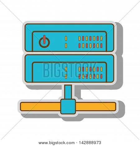 wireless internet router wifi connection ethernet power lights vector  illustration isolated