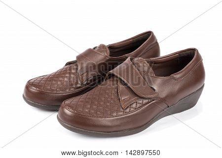 Senior women shoes high quality and high resolution studio shoot
