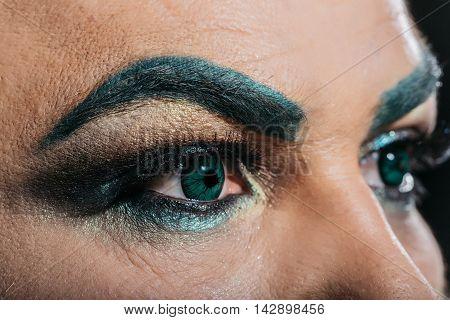 Two Male Eye
