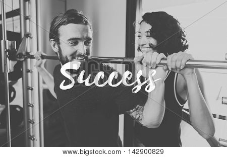 Yes You Can Do It Success Achievement Accomplishment Concept