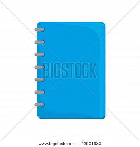 notebook notes stationary page office tool utensil handwriting vector  isolated illustration
