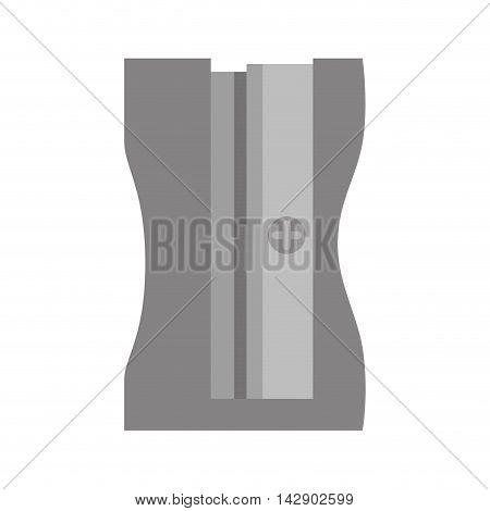 sharpener school pencil color tool object steel art vector  illustration isolated
