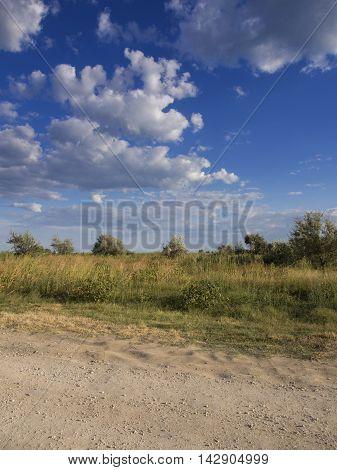 Corbu reserve in Corbu, Constanta county, Romania