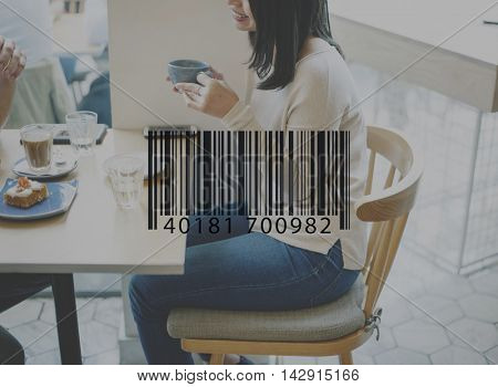 Barcode Scan Shopping Store Merchandise Retail Concept