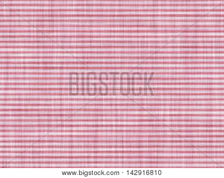 Imitation of simple red canvas, with small horizontal lines.