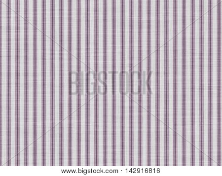 Background of plain fabric with a vertical linear pattern.