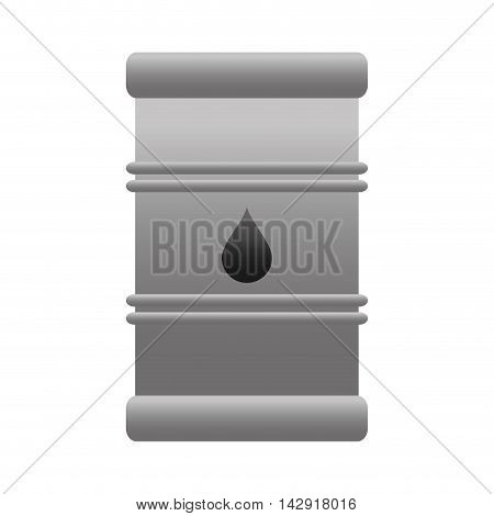 oil barrel tank fuel petroleum drop industry vector illustration isolated