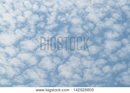 Blue sky and Cloud white motion fluffy at beautiful :Ideal use for background: