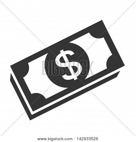 bill money cash economy financial fortune rich bank vector illustration isolated