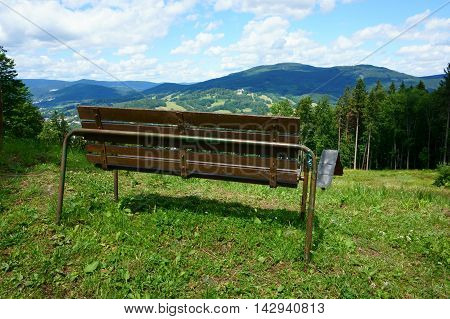 Jeseniky Mountains Landscape