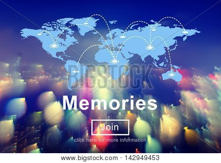 Memories Memory Data Information Mind Concept
