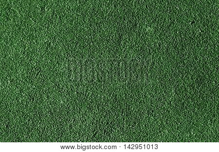 Abstract Green Running Track Surface.