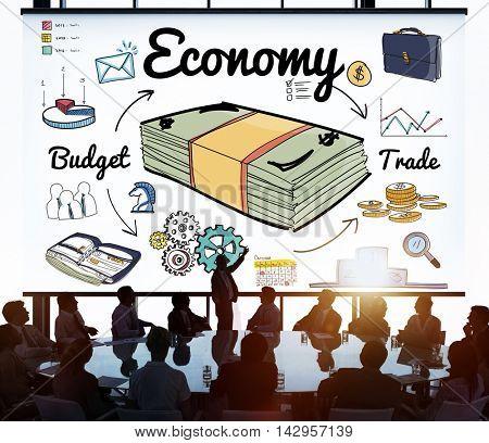 Economy Budget Trade Spending Money Concept