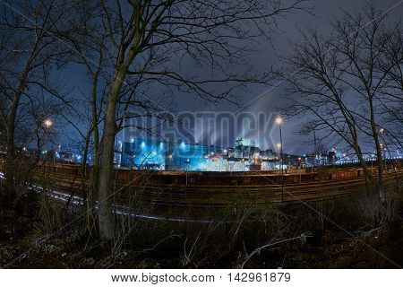 One of the last big steelplants in Germany