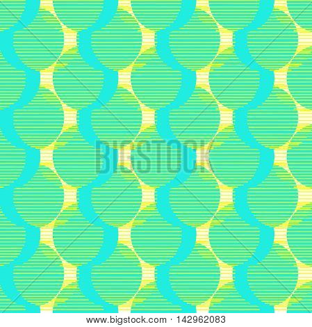 Circle pattern. Modern stylish texture. Repeating dots round abstract background for wall paper. Flat minimalistic design.