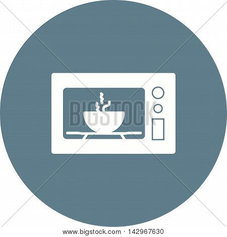 Microwave, oven, home icon vector image.Can also be used for home. Suitable for mobile apps, web apps and print media.