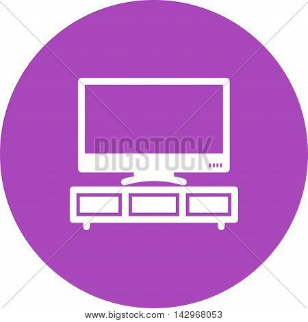 Television, screen, display icon vector image.Can also be used for home. Suitable for mobile apps, web apps and print media.