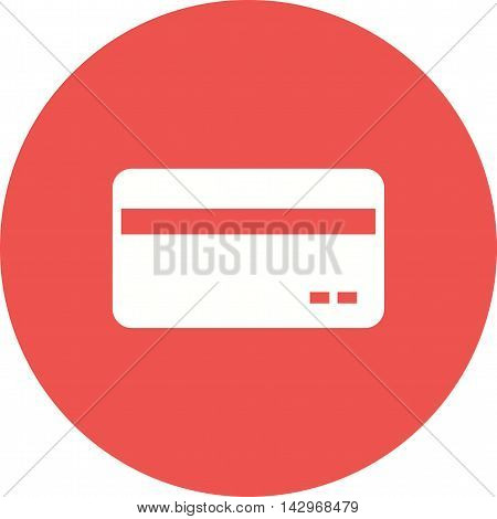 Card, bank, transaction icon vector image.Can also be used for shopping. Suitable for web apps, mobile apps and print media.