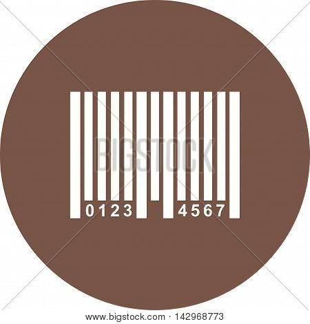 Code, bar, number icon vector image. Can also be used for shopping. Suitable for use on web apps, mobile apps and print media.