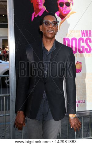 LOS ANGELES - AUG 15:  Orlando Jones at the War Dogs