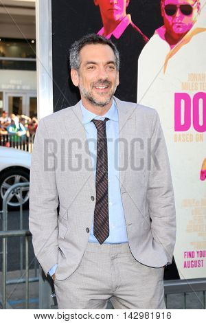 LOS ANGELES - AUG 15:  Todd Phillips at the War Dogs