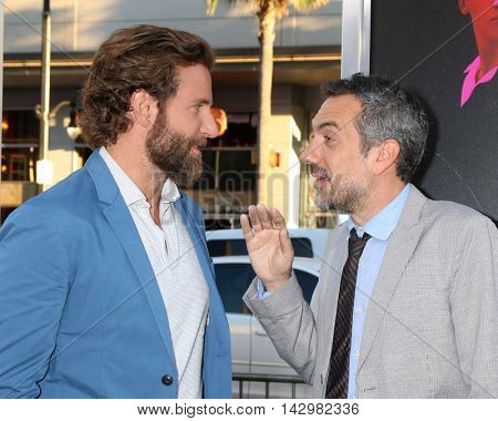 LOS ANGELES - AUG 15:  Bradley Cooper, Todd Phillips at the War Dogs