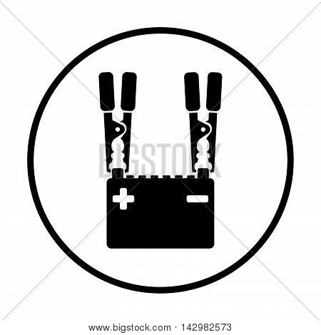 Car Battery Charge Icon