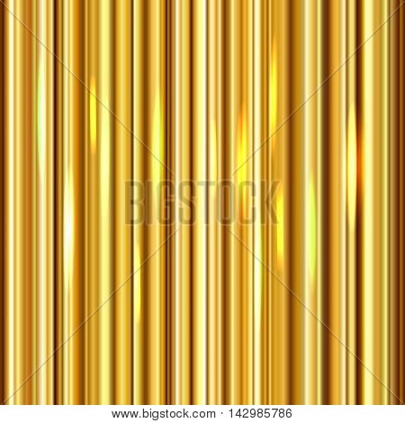 Background with golden vertical gradient, luxury backdrop for your designs