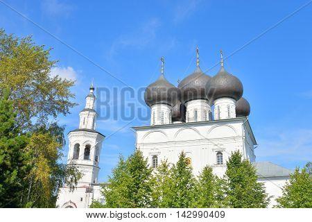 Church of St. Nicholas in Vladychnaya Sloboda in Vologda Russia.