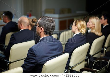 Politicians at conference