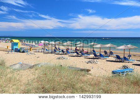 Issos, Corfu