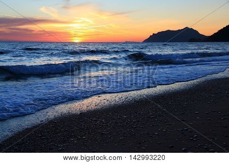 Greece Beach Sunset