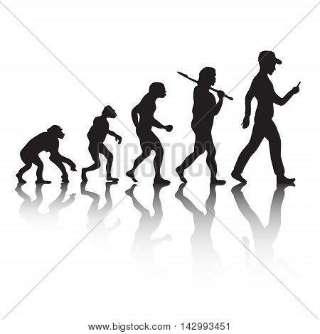 Human evolution Darwins