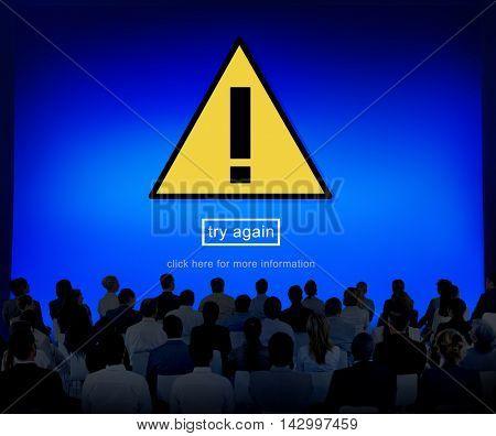 Warning Problem Spam Threat Online Website Concept