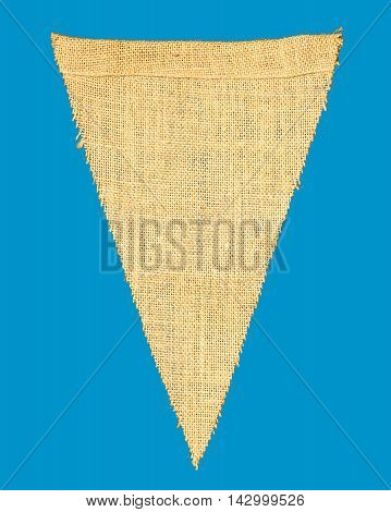 Individual Cloth Pennant Or String Flag