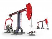 picture of oil drilling rig  - Oil Rig  - JPG
