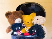 Teddies In Toy Box poster