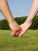 stock photo of holding hands  - Hand - JPG