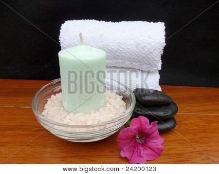 Relaxing Bath Materials