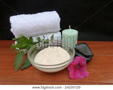 Aromatherapy Spa Facial Materials