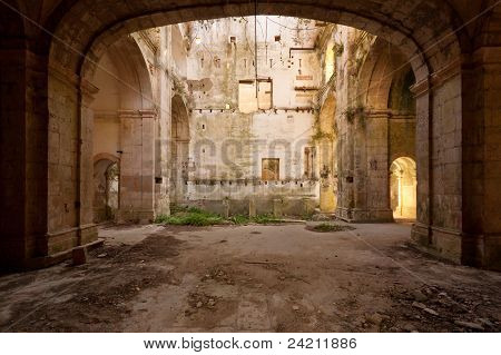 Abandoned Hall Church