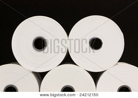 White Paper Rolls