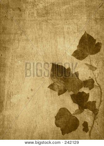 Brown Leaf Background
